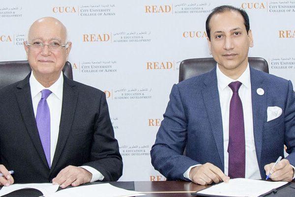 توقيع مذكرة تفاهم مع جامعة الخليج الطبية