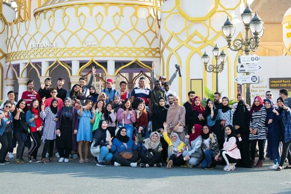 CUCA students visit Global Village