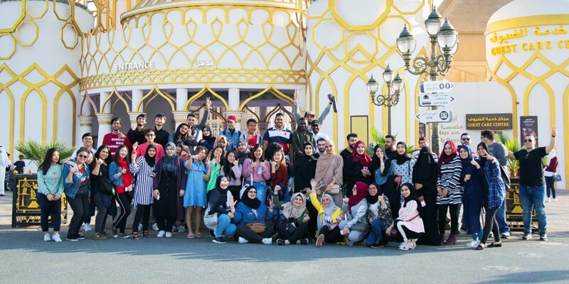 CUCA students visit Global Village
