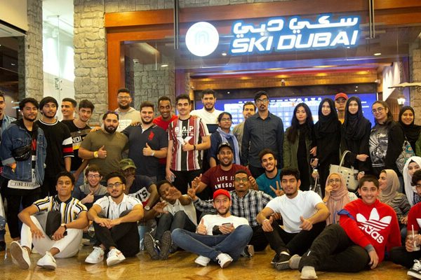 CUCA students visit Ski Dubai