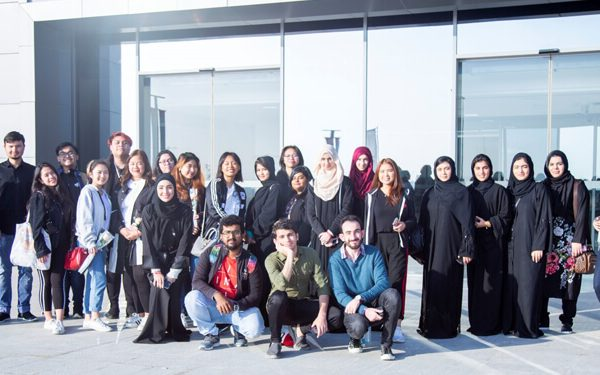 CUCA Students Volunteer in Host Town Ajman
