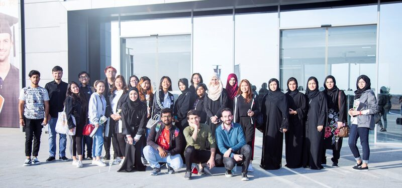 CUCA Students Volunteer in Host Town Ajman