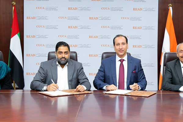 CUCA and City School signs a Memorandum of Understanding with Jobs for Nationals to recruit UAE nationals