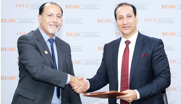 (CUCA) signs a MoU with Ajman Markets Cooperative Society