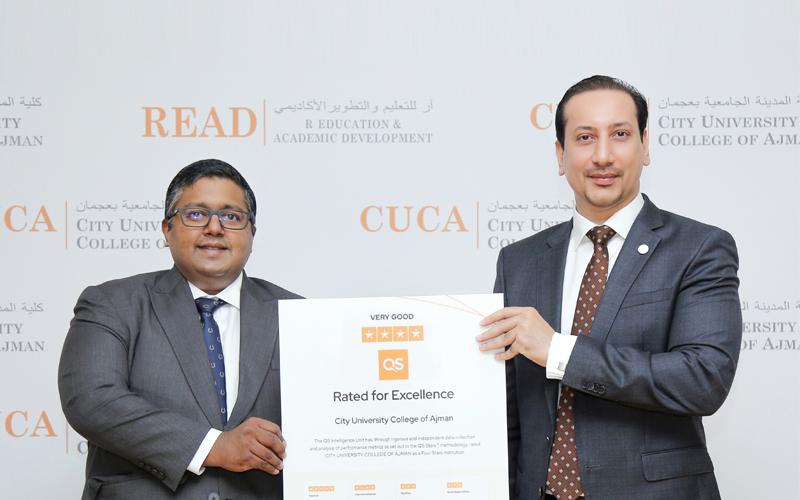 CUCA celebrates its latest achievement earns QS 4 Stars
